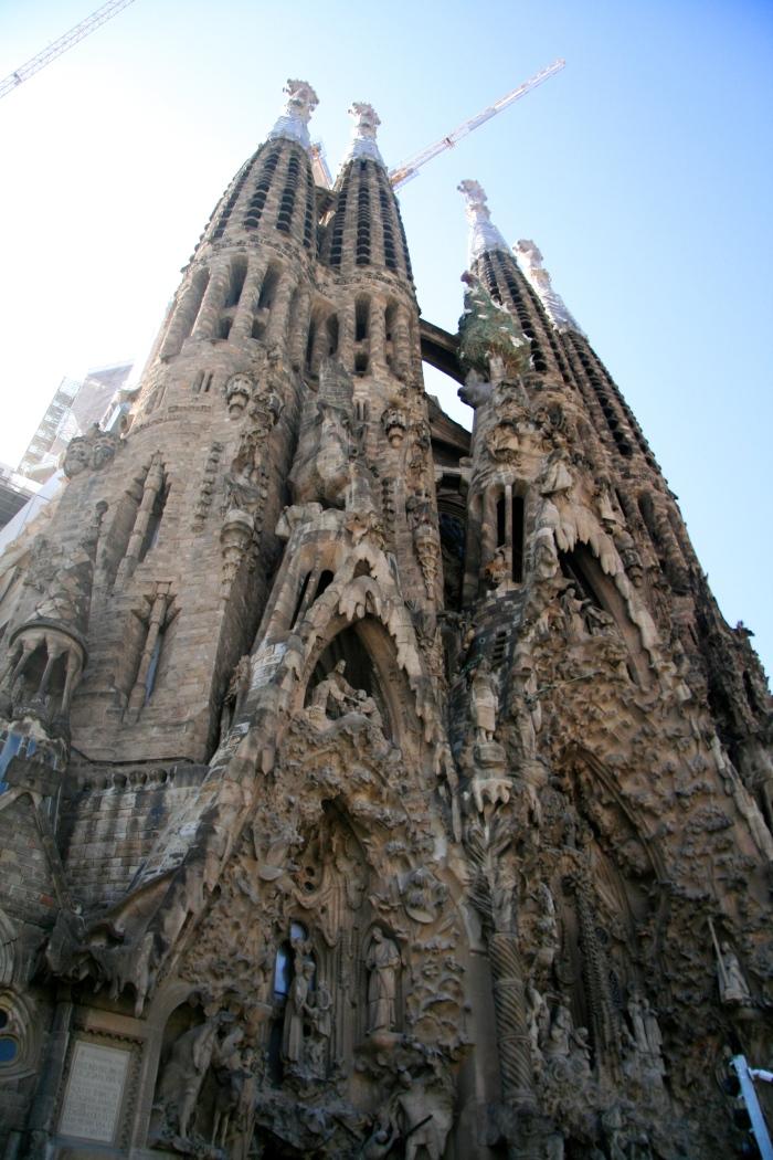 The Sagrada Família by Gaudí